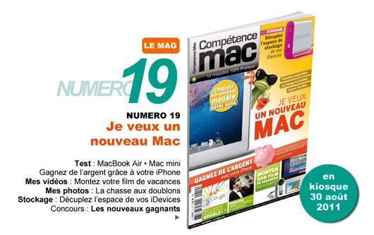 Compétence Mac 19, en kiosque le 30 août