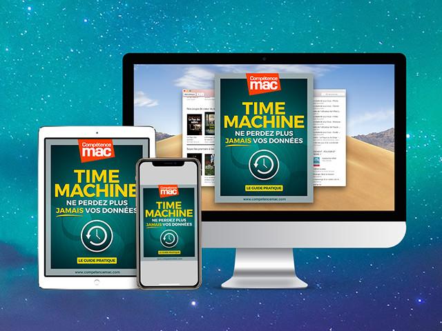 Compétence Mac • TIME MACHINE • Ne perdez plus jamais vos données (ebook)