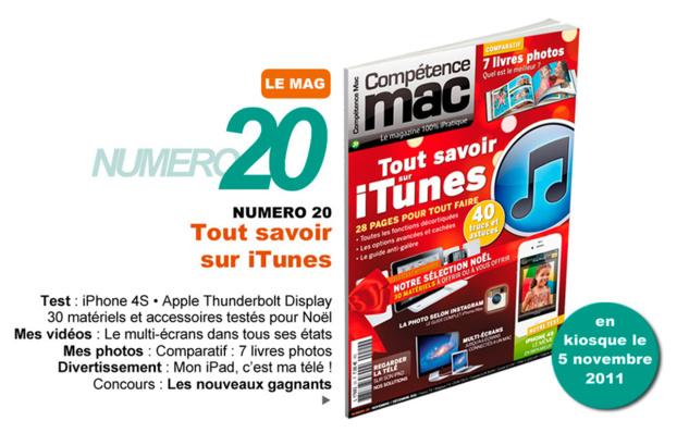 Compétence Mac 20, en kiosque le 5 novembre