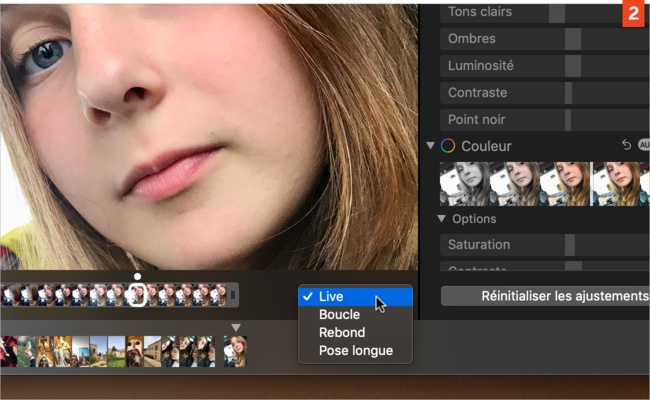 [Photos] Comment modifier l'animation d'une Live Photo ?