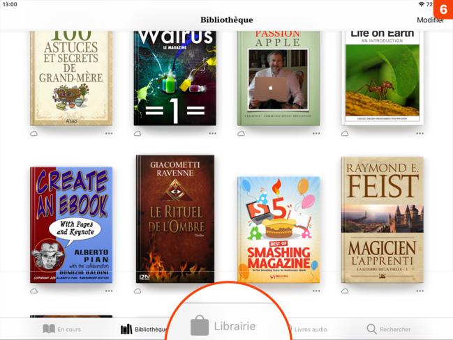 Ebooks • Comment acheter nos livres depuis un Mac ou un iPhone/iPad