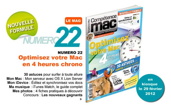 Compétence Mac 22, en kiosque le 29 février