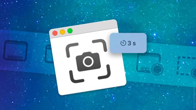 macOS • Comment capturer en différé une image fixe de l'écran  ?
