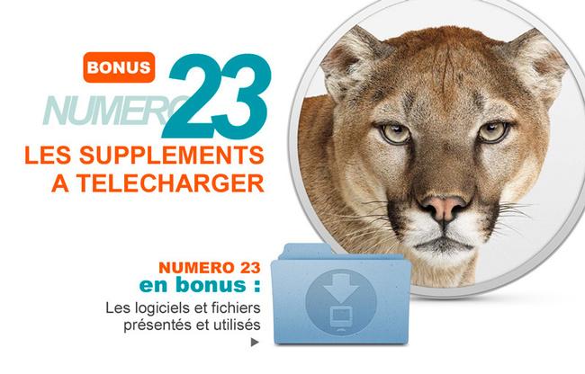 Les suppléments du Compétence Mac 23