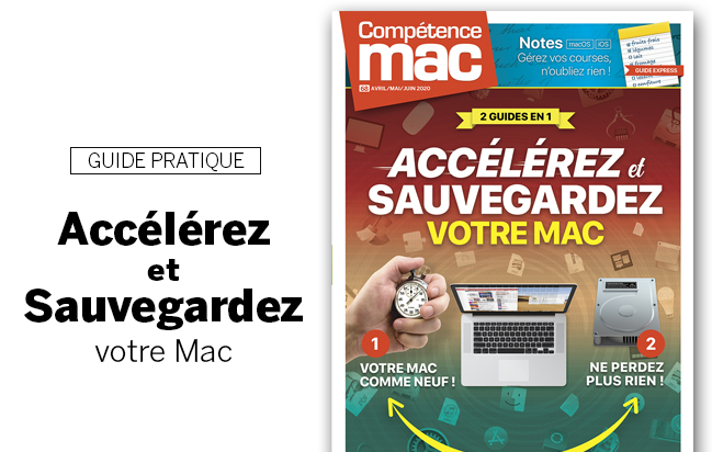 Compétence Mac 68 • Accélérez et Sauvegardez votre Mac