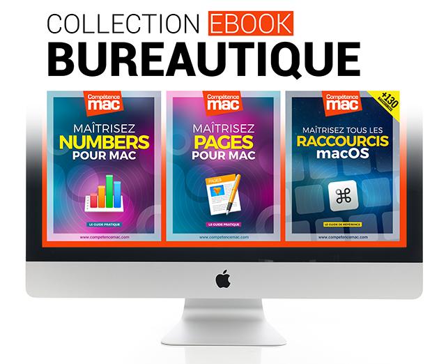 Bureautique • 3 ebooks pour maîtriser Numbers, Pages et les raccourcis
