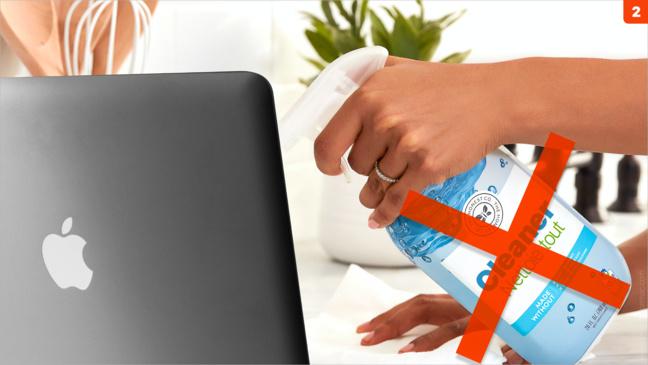 Entretien • Nettoyez régulièrement votre Mac et ses accessoires