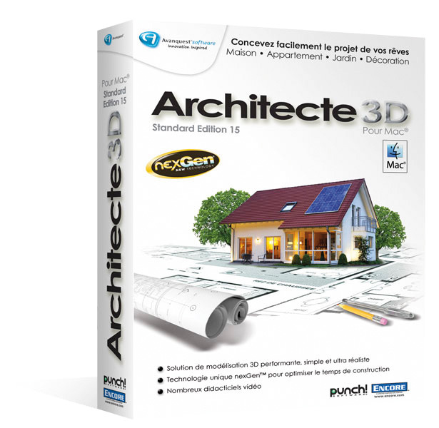 Logiciel maison 3d mac chief architect premier x8 v182042 for Plan architecte logiciel