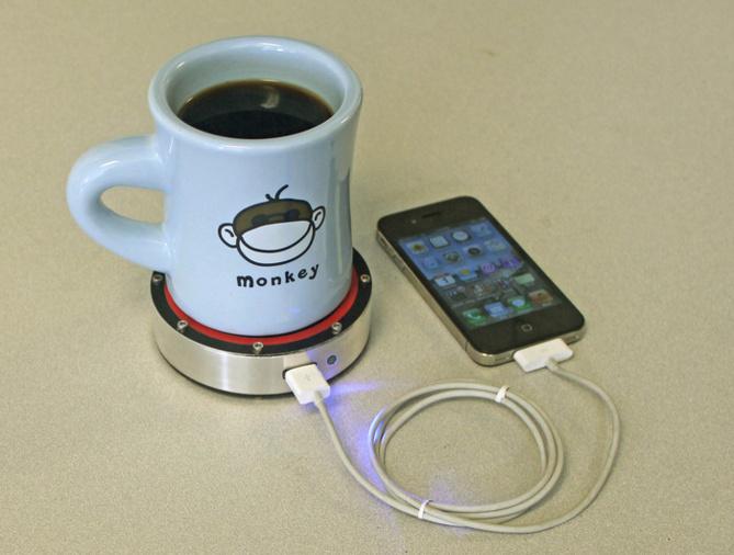 Rechargez votre iPhone grâce à votre café