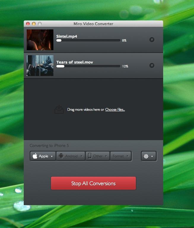 Encodez des vidéos à la chaîne avec Miro Video Converter