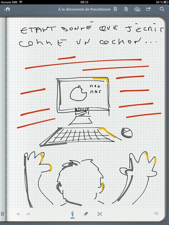 Deux apps indispensables pour dessiner, prendre en note et tout partager