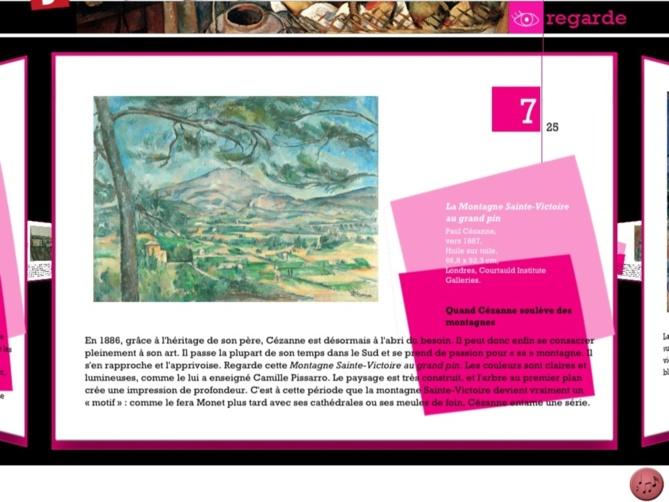 Réinventez les oeuvres de Paul Cézanne grâce à l'iPad