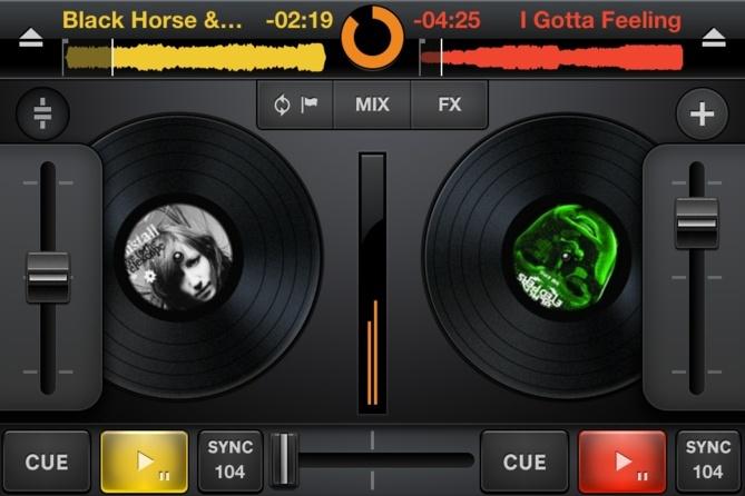 Mixvibes offre le mix sur iPhone