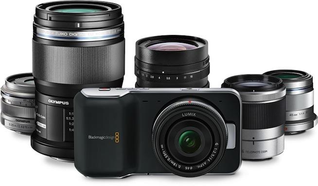 Une caméra professionnelle au format pocket