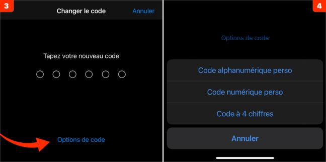 iOS • Comment changer le code de votre iPhone/iPad ?