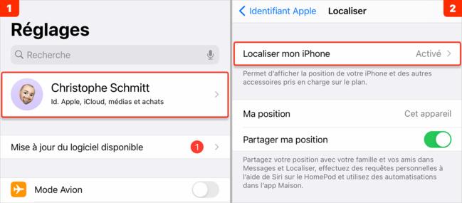iOS • Activer et configurer un AirTag avec votre iPhone