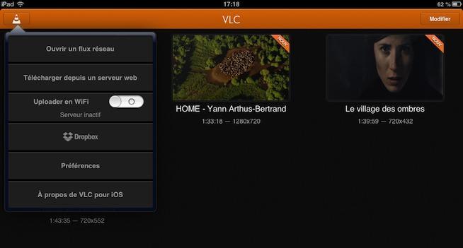 VLC de nouveau disponible pour iPad et iPhone