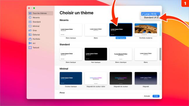 Keynote •Créez rapidement une petite animation d'intro pour une vidéo