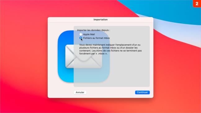 Mail • Sauvegardez vos courriers afin de les consulter ultérieurement