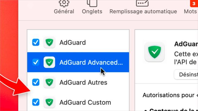macOS • Installez et réglez un outil anti-publicité
