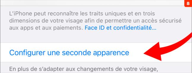 Identification • En plus du code, activez l'identification biométrique sur iPhone
