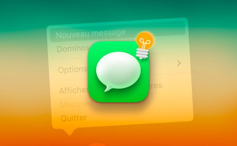 Astuce • Créez un nouveau message d'un clic depuis le dock
