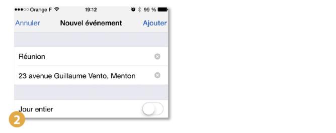 Astuce iPhone iPad • Créer un événement depuis un e-mail