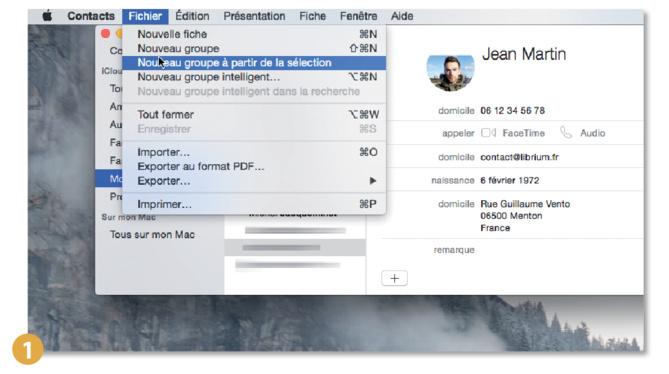 Astuce Mac • Envoyer un e-mail à un groupe de personnes