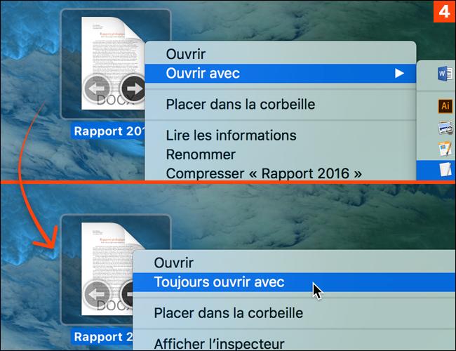 Comment ouvrir un fichier avec un autre logiciel que celui associé par défaut ?