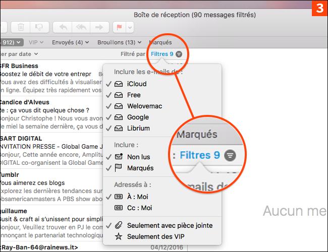 Comment classer rapidement et efficacement vos emails sur Mac ou iPhone ?