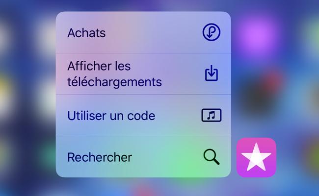[iOS] Comment profiter de la fonction 3D Touch sur votre iPhone