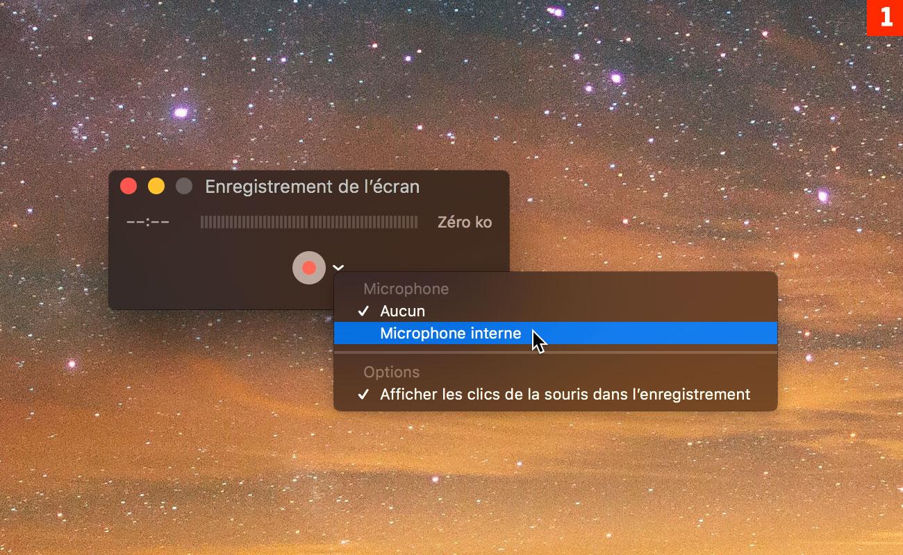 [QuickTime] Enregistrez une vidéo de votre écran en action