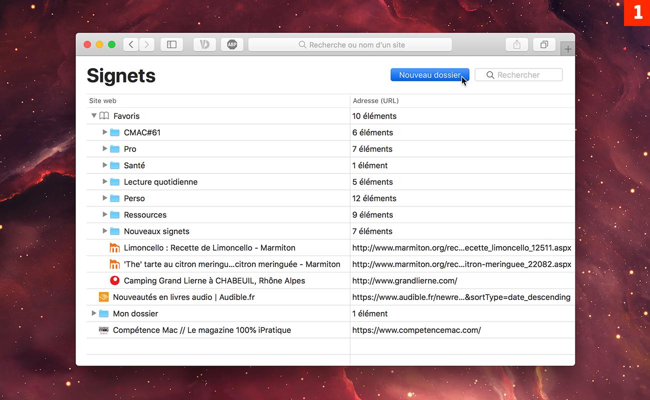 [Safari] Comment ouvrir tous vos sites préférés au lancement