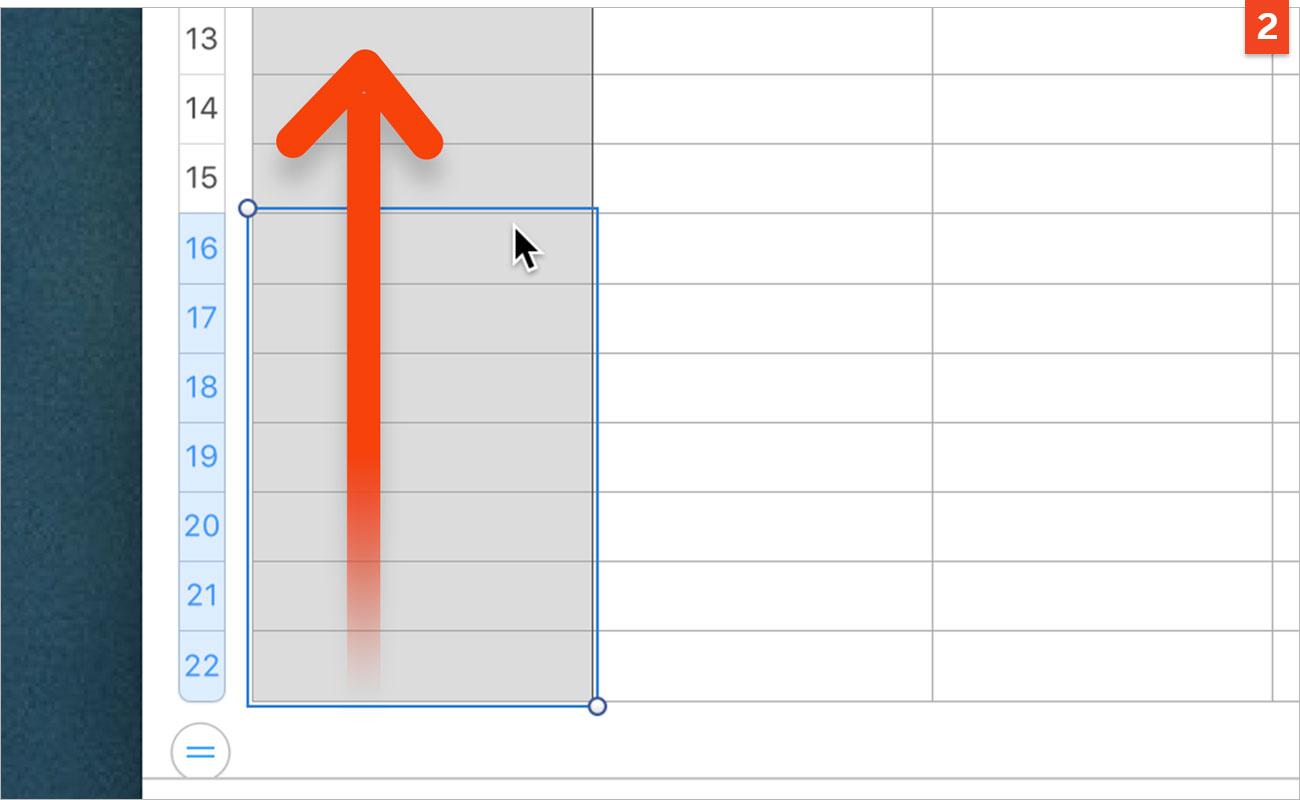 [Numbers] Réalisez un emploi du temps à imprimer