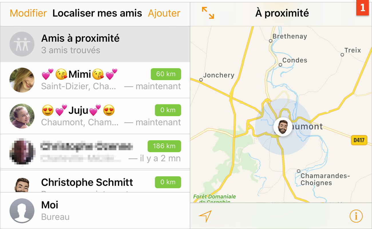 [Localisation] Sachez où se trouvent vos amis et quand ils arrivent