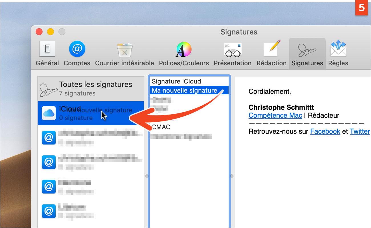 [Mail] Ajoutez une signature automatique à vos courriers