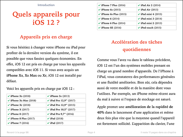 Compétence Mac • iOS 12 : les nouvelles fonctions pour iPhone et iPad (ebook) MISE À JOUR : 12.4