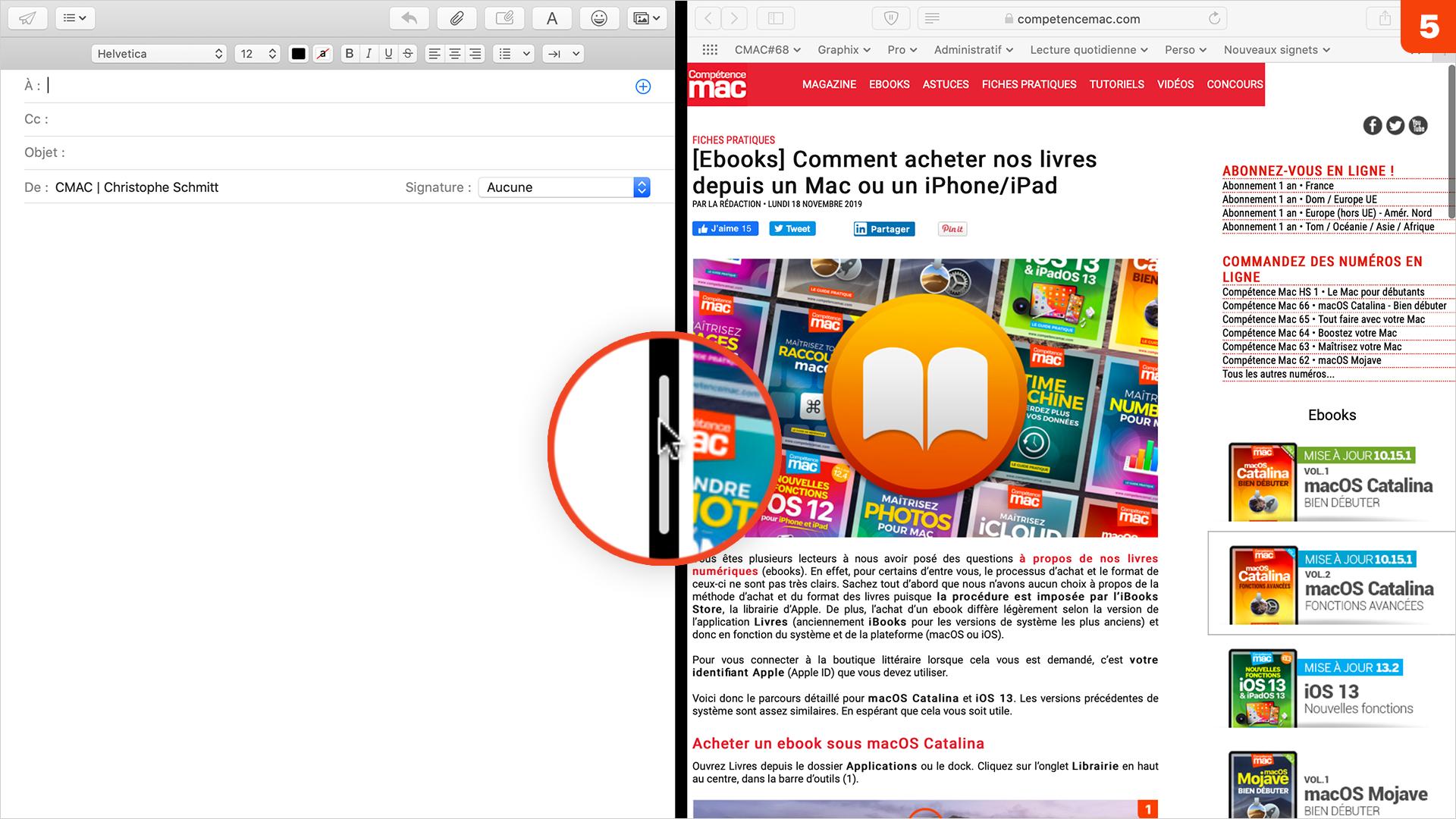 macOS • Alignez plus rapidement vos fenêtres entre elles