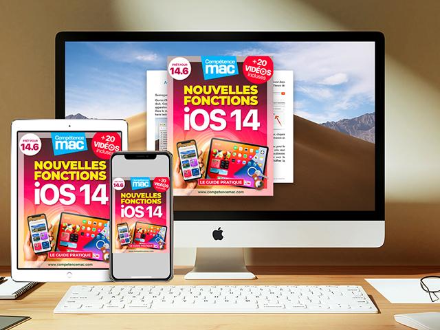Compétence Mac • iOS 14 : les nouvelles fonctions pour iPhone et iPad (ebook) MISE À JOUR : 14.6 + 20 vidéos incluses