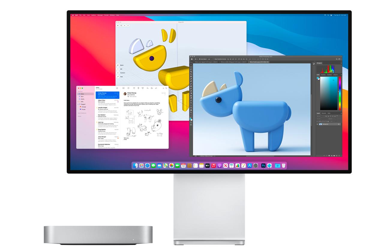 Nouveaux Mac •Une génération d'ordinateurs totalement signée Apple