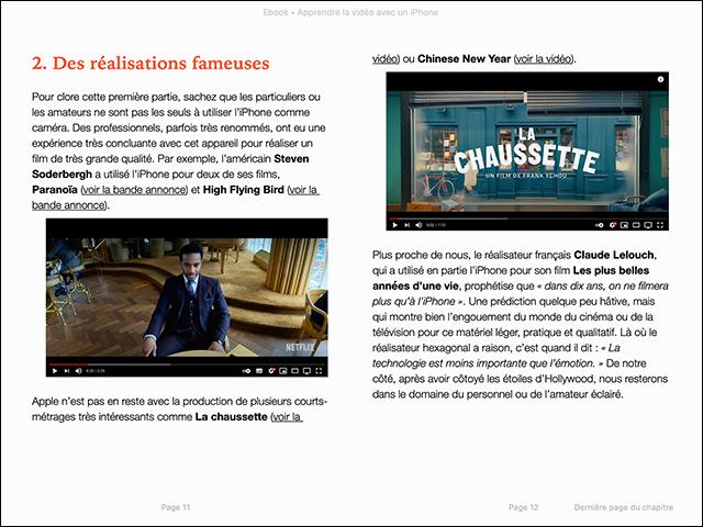 Compétence Mac • Apprendre la vidéo avec un iPhone (ebook)