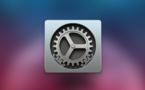 [Préférences Système] Ouvrez un panneau de réglages d'un clic depuis le dock