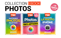 Photos • 3 ebooks dédiés à la photo sur Mac et iPhone