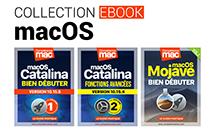 macOS • 6 ebooks pour maîtriser Catalina, Mojave ou Yosemite