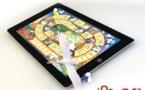 Jouez au jeu de l'Oie sur iPad avec de vrais pions