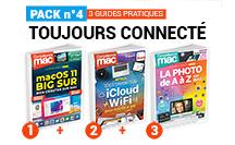 PACK n°4 : Toujours Connecté (3 guides pratiques Compétence Mac)