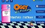 Chasse aux cafards avec Oggy, sur iPad