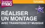 Réaliser un montage avec transitions et musique • iMovie (tutoriel vidéo)