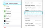 Astuce iPhone iPad • Définir le compte d'envoi par défaut de vos e-mails