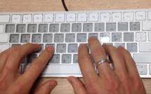 Un clavier intelligent utilisant la technologie e-ink